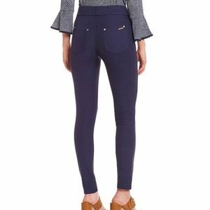 Michael Kors Pants - Michael Kors Navy Blue Stretch Jeggings Size L